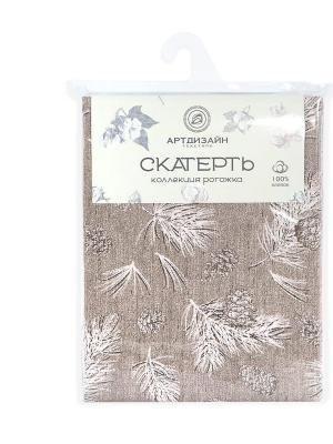 "Скатерть из рогожки 150x145 ""Шишкин лес"" АртДизайн"