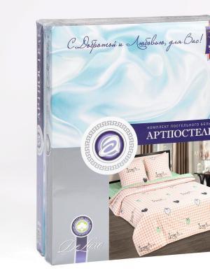 """Постельное белье поплин 2 спальное """"Вкус лета"""" АртПостель"""