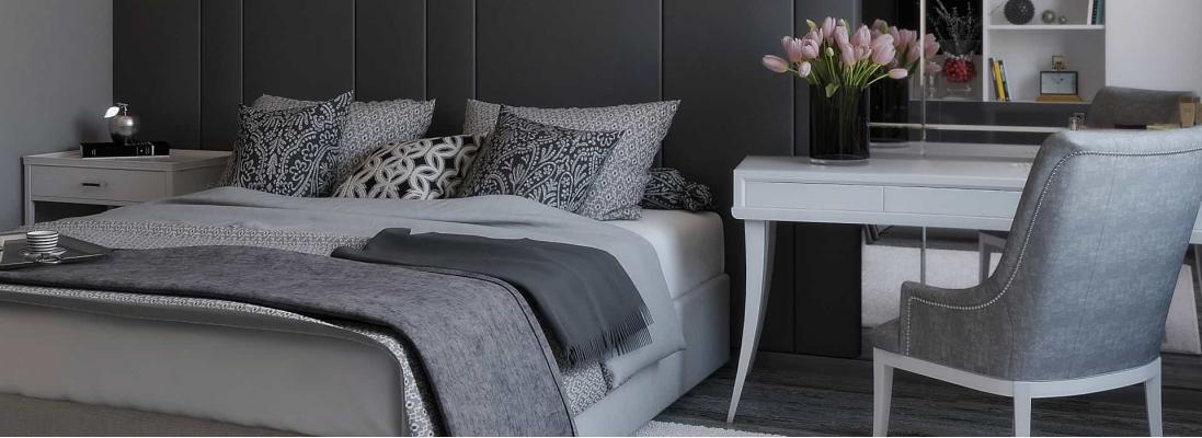 3 варианта дизайна современной спальни