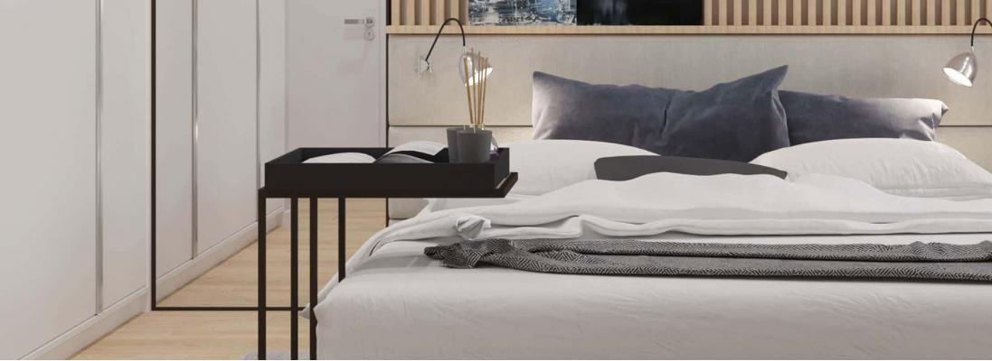 Как увеличить спальню с помощью скандинавского стиля?