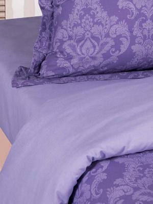 """Постельное белье поплин 2 спальное """"Византия (Фиолетовый)"""" АртПостель"""