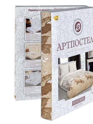 """Постельное белье поплин 2 спальное с европростыней """"Адажио"""" АртПостель"""